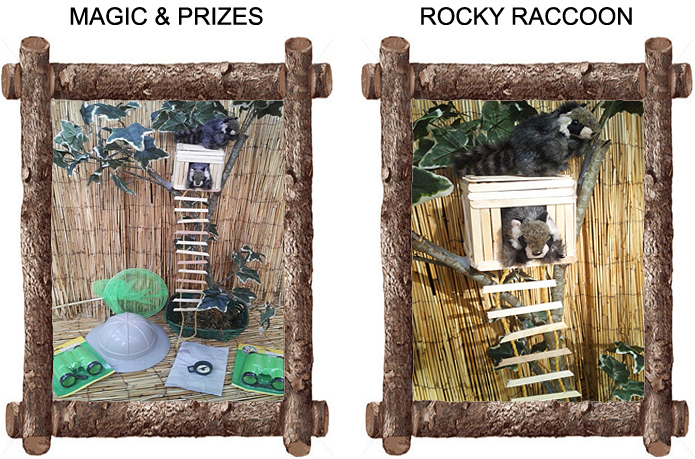 Magic, Prizes & Rocky Raccoon