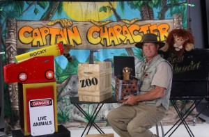 Captain Character | Jacksonville, Florida